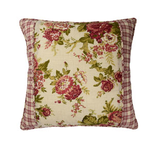 Norfolk 18-Inch Square Decorative Pillow
