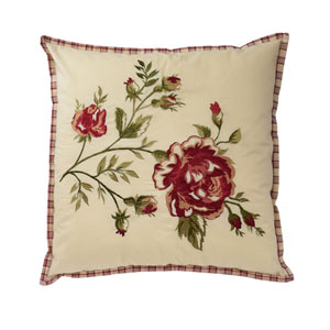 Norfolk 20-Inch Embroidered Decorative Pillow