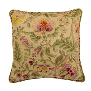 Imperial Dress Antique 18-Inch Decorative Pillow
