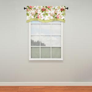 Emmas Garden Blossom 18 x 52-Inch Window Valance
