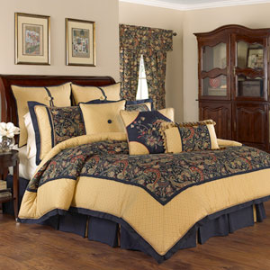 Rhapsody Four-Piece Queen Comforter Set
