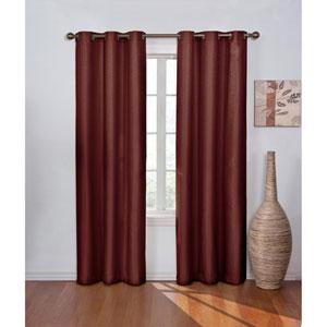 Madison 84 x 42-Inch Merlot Blackout Window Curtain Panel