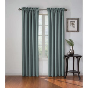 Corinne 95 x 42-Inch Blue river Blackout Window Curtain Panel