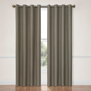 Dane Smoke 52-Inch x 63-Inch Blackout Window Curtain Panel