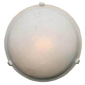 Marbleized Glass Small Ceiling Light