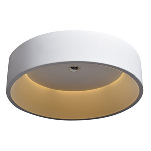 Radiant White LED Flush Mount