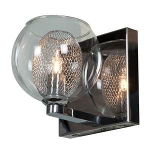 Aeria Chrome One-Light LED Vanity