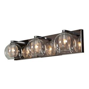 Aeria Chrome Three-Light LED Vanity