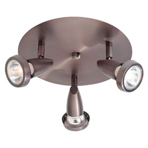 Mirage Bronze Semi-Flush