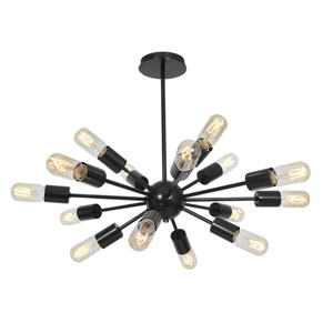 Flux Bronze 16-Light Vintage Pendant