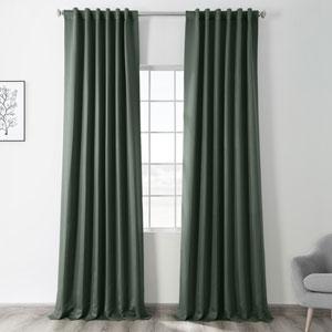 Dark Mallard 50 x 84-Inch Blackout Curtain