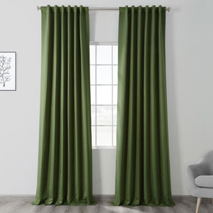 Tropical Green 108 x 50 In. Blackout Curtain Panel Pair