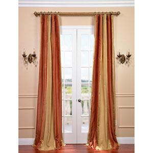 Somerset Multicolor 120 x 50-inch Silk Stripe Curtain Single Panel