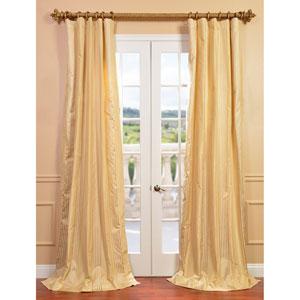 Waterford Sand 108 x 50-Inch Silk Stripe Curtain Single Panel