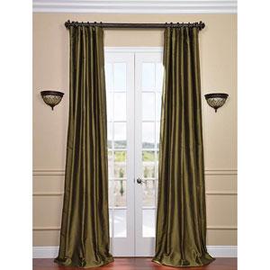 Sage Green 84 x 50-Inch Thai Silk Curtain Single Panel