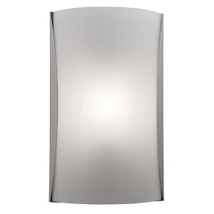 Radon Brushed Steel 8.5-Inch Wide LED Wall Sconce with Opal Glass