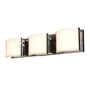 Nitro 2 Bronze Three-Light 25-Inch Wide Bath Vanity Fixture