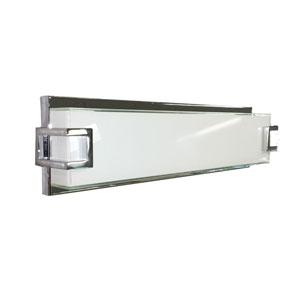 Ryder Chrome 18-Inch LED Bath Bar Vanity