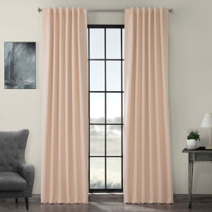 Blackout Pink 50 x 120 In. Curtain, Set of 2