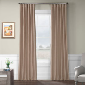 Bellino Blackout Pink 50 x 108 In. Curtain Single Panel