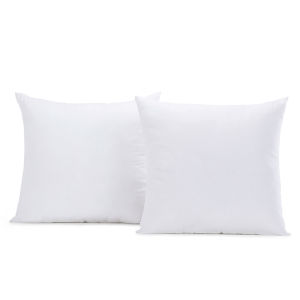 Vaccum White Cotton and Wool Cushion Cover