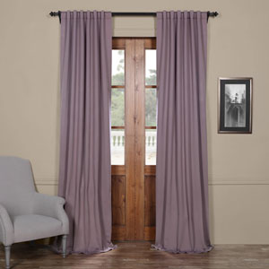 Purple 96 x 50 In. Blackout Curtain Set