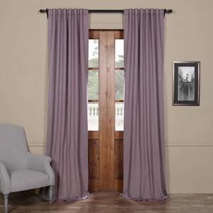 Purple 108 x 50 In. Blackout Curtain Set