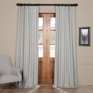 Vista Grey 96 x 50 In. Blackout Curtain Panel