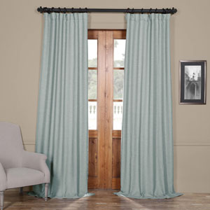 Gulf Blue 108 x 50 In. Blackout Curtain Panel