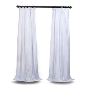 White Vintage Textured Curtain Sample Swatch