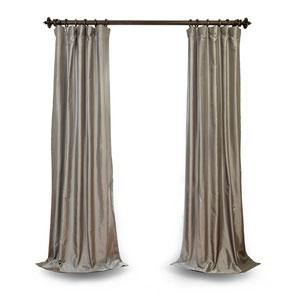 Platinum Faux Silk Taffeta Curtain Sample Swatch
