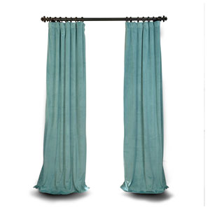Aqua Mist 84 x 50 In. Blackout Curtain Single Panel