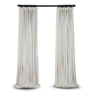 Doublewide Off White 100 x 96 In. Blackout Curtain