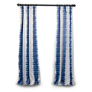 Blue Dye 84 x 50 In. Blackout Curtain