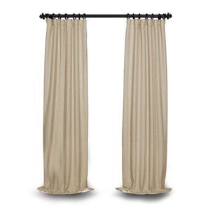 Light Beige 84 x 50 In. Blackout Curtain Single Panel