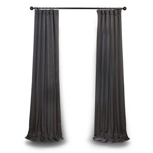 Slate Gray 108 x 50 In. Curtain Single Panel