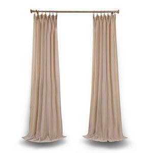 Tumbleweed 84 x 50 In. Faux Linen Sheer Single Curtain Panel