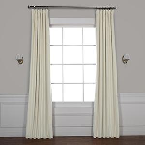 Neutral Ground 108 x 50-Inch Signature Blackout Velvet Curtain Single Panel