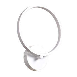 Eternal White LED Wall Sconce
