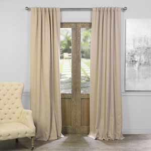 Classic Taupe 50 x 120-Inch Blackout Curtain