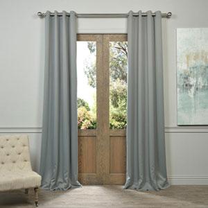 Grommet Grey 50 x 96-Inch Blackout Curtain Pair 2 Panel