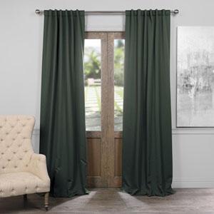 Dark Mallard 50 x 96-Inch Blackout Curtain