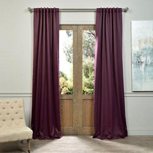 Aubergine Purple 50 x 108-Inch Blackout Curtain Pair 2 Panel