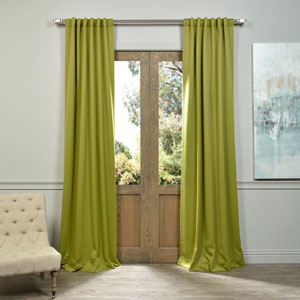 Green 108 x 50-Inch Blackout Curtain Panel Pair