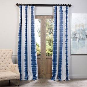 Blue Flambe 50 x 84-Inch Blackout Curtain