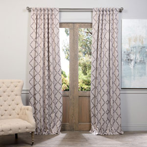 Seville Tan 96 x 50-Inch Blackout Curtain Single Panel