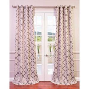 Seville Tan 84 x 50-Inch Grommet Blackout Curtain Single Panel