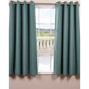 Jadite Green 63 x 50-Inch Grommet Bellino Blackout Curtain Single Panel