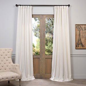 Barley Ivory 96 x 50-Inch Curtain Single Panel