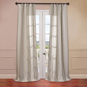 Del Mar Stone 50 x 108-Inch Blend Stripe Curtain